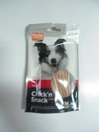"""""""Chick'n snack"""" - Снакс за кучета с пилешко и морска треска"""
