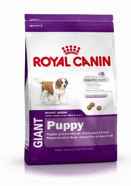 """Giant Puppy"" - Храна за кученца над 8 месеца от гигантски породи   15.00кг Royal Canin Giant Puppy"