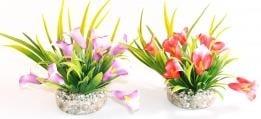 """""""Gala Lily"""" - Изкуствено растение за аквариум"""