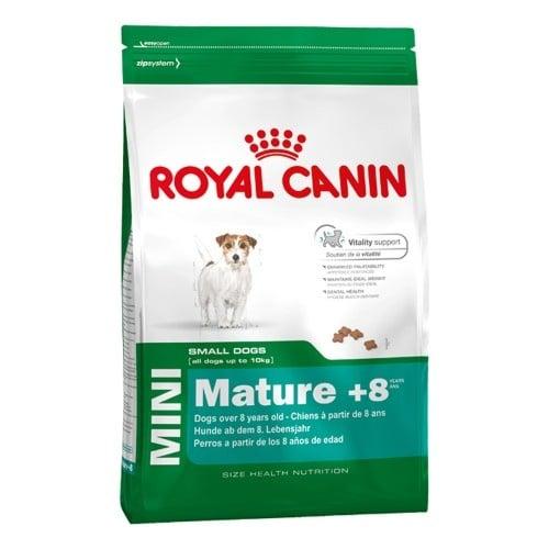 """""""Mini Mature +8"""" - Храна за възрастни кучета от дребни породи, с тегло до 10 кг."""