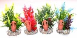 """""""Amfora Large"""" - Изкуствено растение за аквариум"""