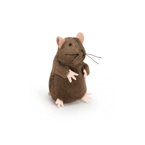 Плюшена мишка с mikrochip - 8 см