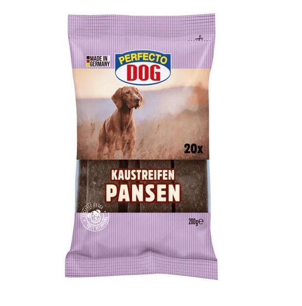 Дентални ленти за кучета, Perfecto Dog, Шкембе, 200гр
