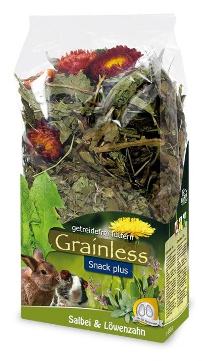 Беззърнена допълваща храна за гризачи с градински чай и глухарче 650 гр