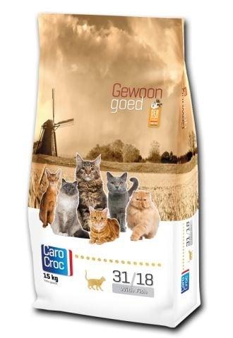 """""""CAROCROC CAT FISH"""" - Храна за зрели котки от 1 до 8 години - 0.400 кг."""