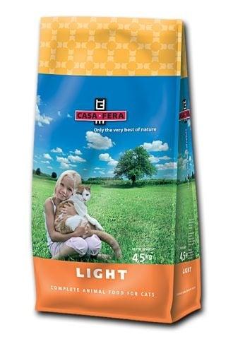 """""""CASA-FERA LIGHT"""" - Храна за котки с наднормено тегло - 1.5 кг."""