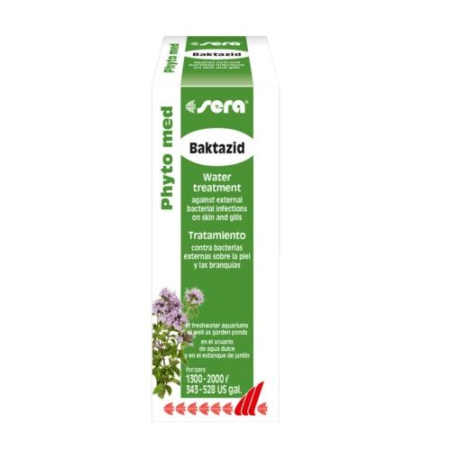sera Phyto med Baktazid - срещу външни бактериални инфекции на кожата и хрилете