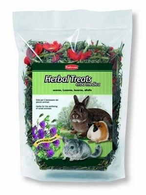 """""""Herbal Treats"""" - Люцерна с мента и изсушени моркови"""