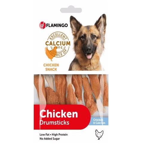 Лакомство за куче Пилешки бутчета Chick'n Snack от Flamingo, две разфасовки