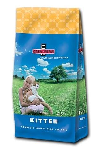 """CASA-FERA KITTEN"" - Храна за котенца до 1 година - 1.5 кг."