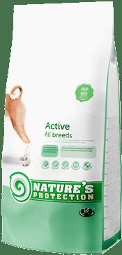 """""""Active""""  - Храна за физически активни кучета от всички породи"""