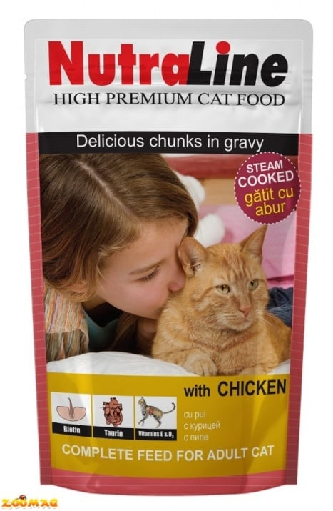 """""""Пауч за коте"""" - Различни вкусове"""