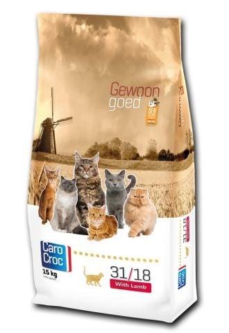 """""""CAROCROC CAT LAMB"""" - Храна за зрели котки с агнешко месо - 0.400 кг."""