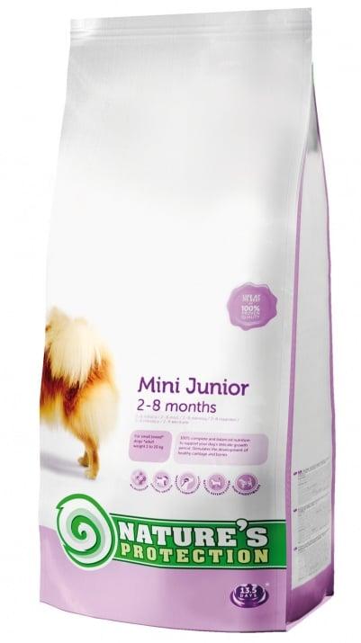 """""""Mini Junior"""" - Храна за кученца от малки породи на възраст от 2 до 8 месеца"""