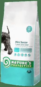 """""""Mini Senior"""" -  Храна за възрастни кучета над 7 години от малки породи"""