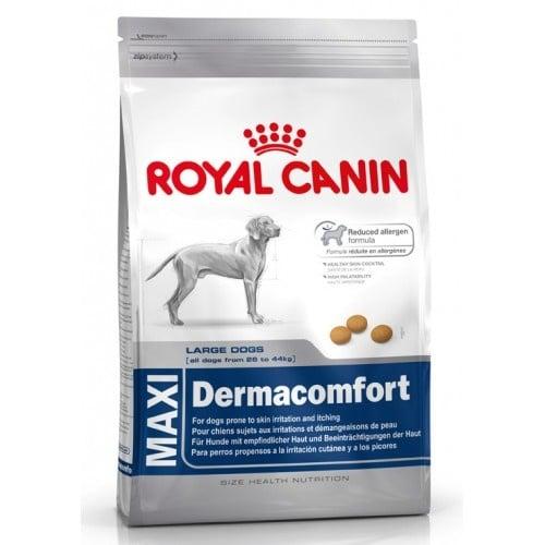 """""""Maxi Dermacomfort"""" - Храна за кучета от едри породи, с тегло от 26 до 44 кг., склонни към кожни раздразнения"""