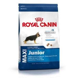 """""""Maxi Junior"""" - Храна за малки кучета от едри породи до 15 месеца"""