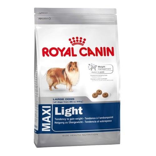 """""""Canin Maxi Light"""" - Храна за отраснали и възрастни кучета от едри породи, с тегло от 26 до 44 кг."""