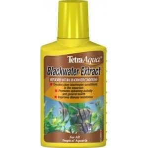 """Tetra Blackwater"" - Торф концентрат прави водата черна"