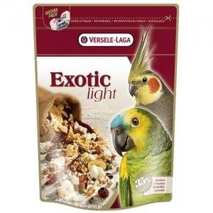 """""""Exotic Light"""" - Храна за големи и средни папагали с пуканки и зърна"""