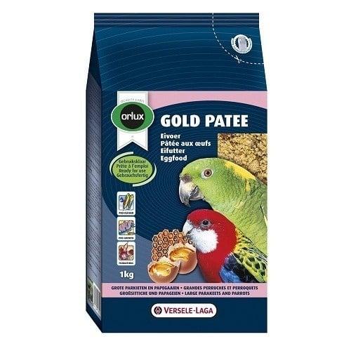 """""""Orlux Gold Patee Parakeet & Parrots"""" -  Мека яйчна храна за средни и големи папагали"""