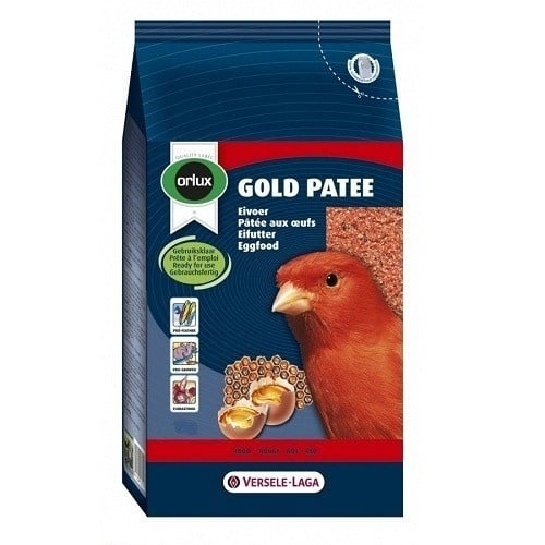 """Orlux Gold Patee Red Canaries"" - Мека яйчна храна за червени канарчета"