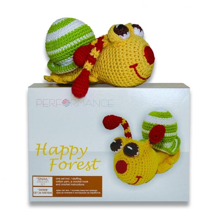 Креативен комплект за плетене, Охлюв