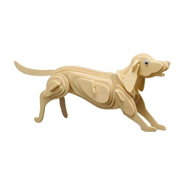 Дървен комплект за сглобяване, Куче