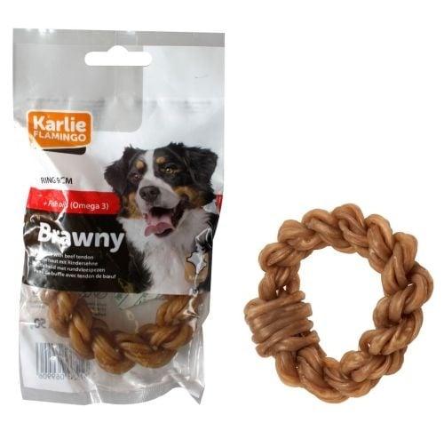 """""""Вързан кръг Brawny"""" - Лакомство за кучета"""