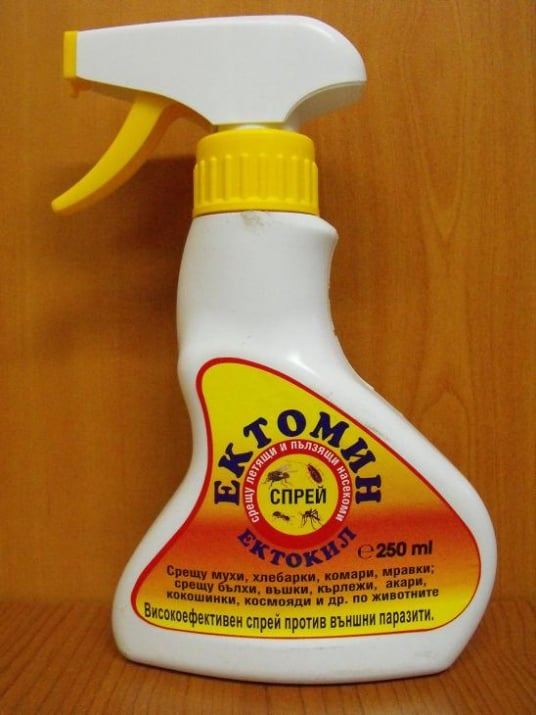 Ектомин спрей