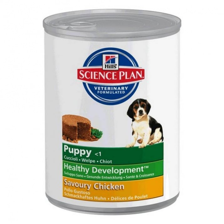 """HILL'S Canine Puppy Chicken"" - Консерва с пилешко месо за малки кученца"