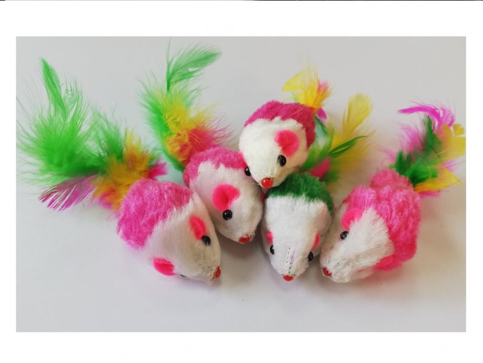 Играчка за коте мишка - 1 брой