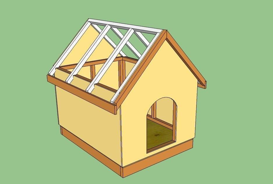 Как да построим къщичка за кучета