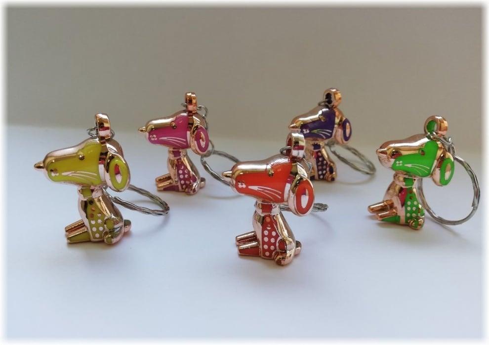 Ключодържател Кученце - различни цветове
