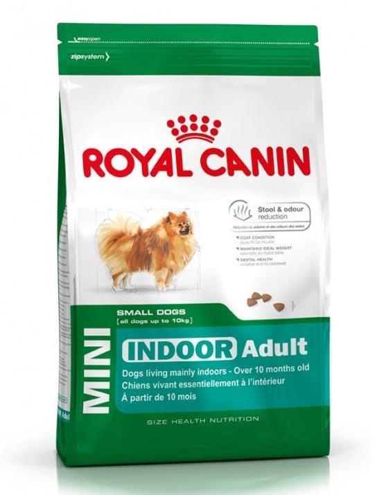 """""""Mini Indoor Adult"""" - Храна за кучета от дребни породи, отглеждани предимно в затворени помещения"""