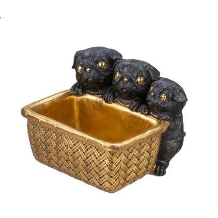 Декорация малки мопс