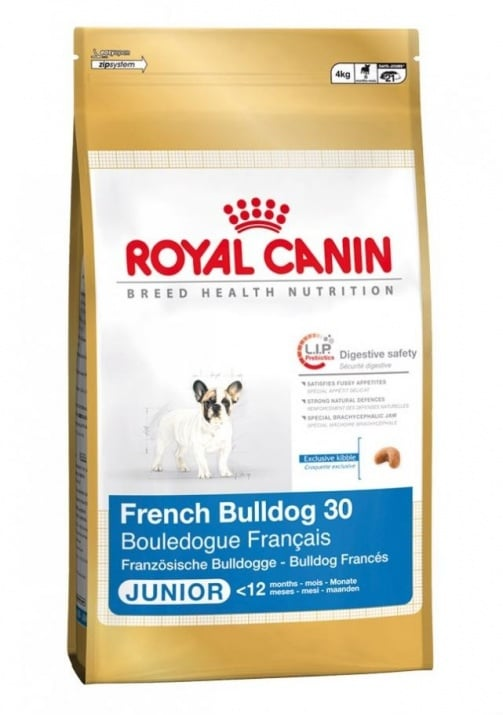 """French Bulldog Junior""  - Храна за Френски Булдог до 12 месеца"