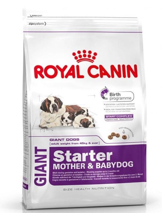 """""""Giant Starter M%B"""" - Храна за бременни и отбити кучета от породи достигащи тегло над 45 кг."""