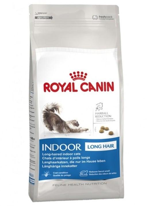 """""""Indoоr Longhair 35"""" - Храна за котки от дългокосмести породи"""