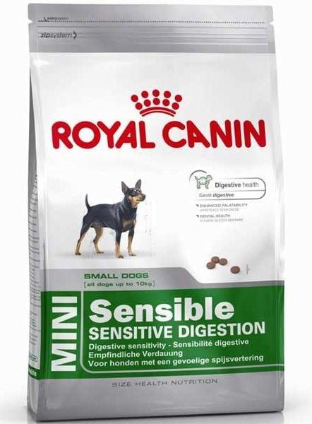 """""""Royal Canin Mini Sensible"""" – Храна за малки кучета с храносмилателни проблеми"""