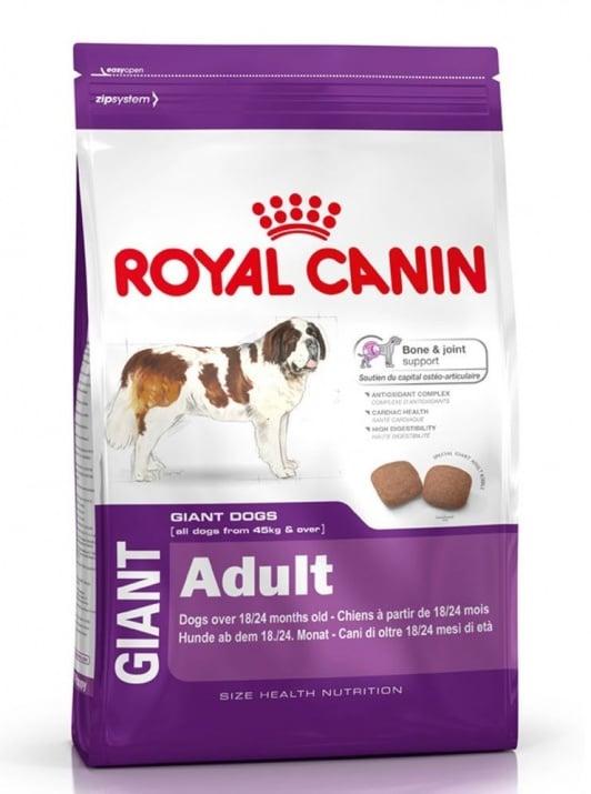 """""""Giant Adult"""" - Храна за кучета от гигантски породи на възраст над 18/24 месеца"""