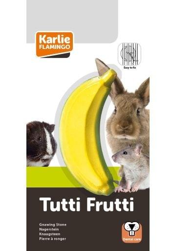 """""""Tutti Frutti"""" - Витаминно камъче за малки гризачи с вкус на банан"""