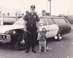 Полицейско куче преди