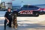 Куче с полицай