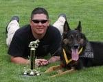 Полицай и куче