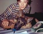 Бауи с немска овчарка
