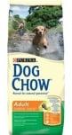 """""""Dog Chow Adult"""" - Храна за зрели кучета с пилешко и ориз 15 кг."""