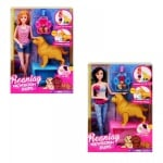 Кукла с бременно куче, кученца и аксесоари