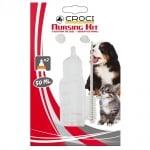 Комплект биберон за малко куче или коте Croci Nursing Kit, 50ml