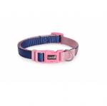 Нашийник за куче DOUBLEPREMIUM BLUE/PINK, различни размери